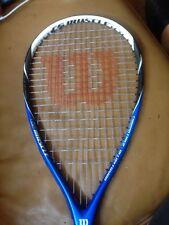 Wilson de fibra de carbono aleación fusión CS músculo Squash Raqueta