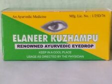 Elaneer Kuzhampu Kottakkal Aryurvedic Herbal Eye Drops 10 ML Pack - 3 Packets