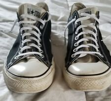 MENS CONVERSE ALL STAR BLACK AND WHITE SHOES SIZE 11