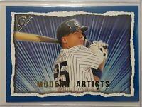 2020 Topps Gallery Modern Artists Blue Gleyber Torres 20/99 SP New York Yankees