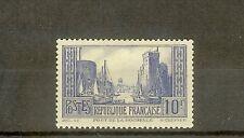 "FRANCE STAMP TIMBRE N° 261 "" PORT DE LA ROCHELLE 10F BLEU "" NEUF xx TTB"