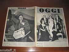 OGGI 1955/8=REALI SAVOIA MATRIMONIO MARIA PIA=MARCELLA MARIANI=ARESE=