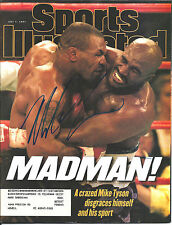 MIKE TYSON SIGNED SPORTS ILLUSTRATED MAGAZINE COVER 7/7/97 S.I. HOLYFIELD W/COA