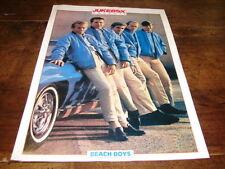 BEACH BOYS - Mini poster couleurs JUKEBOX !!!!!!!!!!!!!