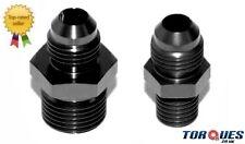 AN -6 AN6 Cosworth Bosch 044 Fuel Pump Adapters - Black