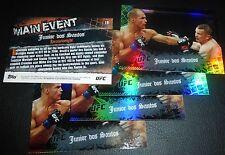 Junior Dos Santos UFC 2010 Topps Main Event Card #19 160 155 146 131 117 108 103