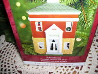 2000 Hallmark Ornament School House Nostalgic Houses Series MIB