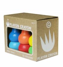 Studio Skinky Playon Crayons 12 Pack PRIMARY COLOURS Baby Kids Stackable Crayon
