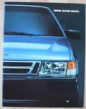 très rare Catalogue Saab 9000 - USA 1986 - 24 pages