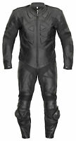 Lederkombi BELEZZA Racing Einteiler schwarz einteilig leather suit Motorradkombi