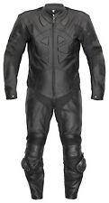 Combi Cuir Belezza Course une Pièce Noire une Pièce Cuir Suit Combinaison Moto