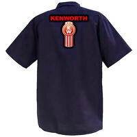 Kenworth II - Mechanics Graphic Work Shirt  Short Sleeve
