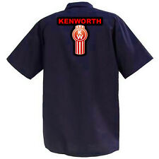 Kenworth II - Mechanics Graphic Work Shirt  Short Sleeve
