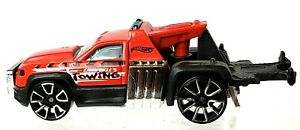 Hot Wheels 2013 New City Works Series #50 Repo Duty Red Loose