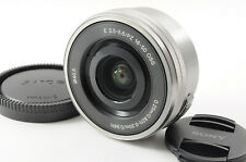 [Excellent] Sony SELP1650 E PZ 16–50mm f/3.5–5.6 OSS Telephoto Lens w/ Caps
