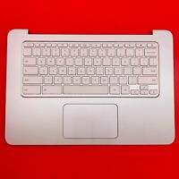 ORIGINAL HP ChromeBook White 14-X 14-X015WM Palmrest Keyboard EAY09003030