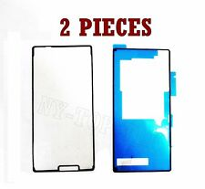 2X Front + Back Adhesive Sticker Glue Tape For Sony Xperia Z3 D6603 D6633 L55