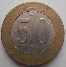 Turchia 50 alla 2005