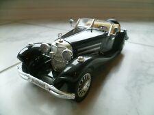 Mercedes Benz 500 K Roadster / 1:20 Bburago / schwarz / Modellauto Sammlungsau