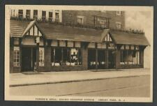 Asbury Park NJ: c.1930s Postcard TURNER'S GRILL, 204-210 COOKMAN AVE Restaurant