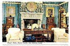 Doge's Suite Hearst Castle Postcard San Simeon California Venetian Palace Vtg