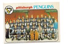 1978-79 O-Pee-Chee #204 Pittsburgh Penguins Team Checklist