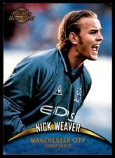 Topps Premier Gold 2001-Manchester City Nick Weaver No.76