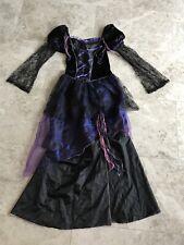 Tu Halloween Sexy Witch Fancy Dress Costume  NEW  Uk 10 12 Purple Black