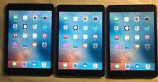 Lot of 3* Apple iPad mini 1st Gen. 16GB, Wi-Fi (2) and 32 GB Wi-Fi