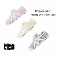 Onitsuka Tiger Mexico 66 Paraty Stripe Womens Mens Slip On Unisex Shoes Pick 1