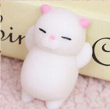 Soft Kawaii Pink Cat Squishy Healing Squeeze Fun Kids Toys Stress Reliever #B