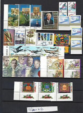 ISRAEL 1998 Complete Year Set With Tabs   24V + 6 S/S MNH