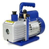 Vacuum Pump Rotary Vane Deep HVAC AC Air Tool R410a R134 Free Oil 3,5CFM 1/4HP