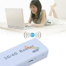A5 Portable 3G/4G WiFi Hotspot 150Mbps RJ45 USB Router White