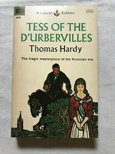 Tess of the D'Urbervilles by Thomas Hardy - Paperback - Good