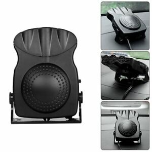 12V Car Heater and Window Defroster- Black