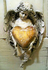 Angel Poster - Picture of an Antique Angel Door hanging..Very old..13x19 inch