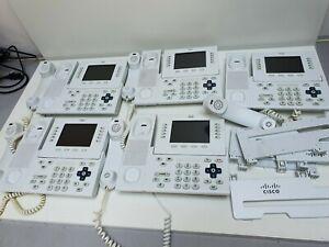 CISCO CP-8961 Systemtelefon Büro Business IP Phone VoIP Telefon mit Fuß Stand