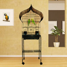 New Oriental Top Canary Parakeet Cockatiel LoveBird Finch Bird Cage Blk 955