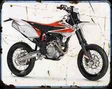 Beta M4 Motard 09 01 A4 Metal Sign Motorbike Vintage Aged