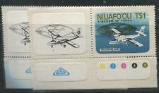 Tonga Niuafo'ou Scott # 1-2 MNH Scott  $ 5.50