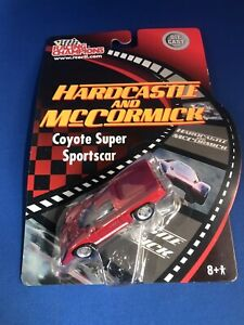 Racing Champions Hardcastle and McCormick Coyote Super Sportscar 1:64 RARE