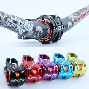 Cycling Mountain Bike Stem Short Handlebar Stem Riser, Bar Clamp 31.8mm - Easy