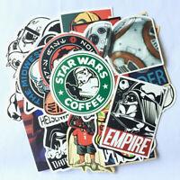 25Pcs Star Wars Graffiti Skateboard Sticker Bomb Luggage Laptop Decals Pack Dope