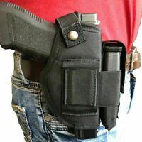 Nylon Hip Belt Gun holster with magazine pouch For Glock 26,27,28,39