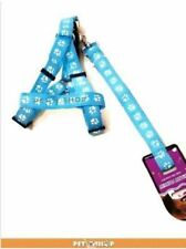 Pet Leash with Harness. Medium- Large Breed Puppy - Blue