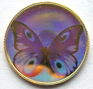 St.Thomas Prince 1998 Butterfly 2500Dr PCGS PR68 Gold Coin,Proof