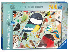Ravensburger 14697 Matt Sewell's Our British Birds 500 Piece Jigsaw Puzzle New