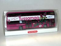 Wiking MAN Doppeldecker Bus TUSSAMAG ct-Arzneimittel Werbemodell in OVP 1:87