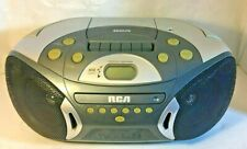 Vintage Rca Rcd 1588 Radio Cassette Cd Player Boom Box Tested Works